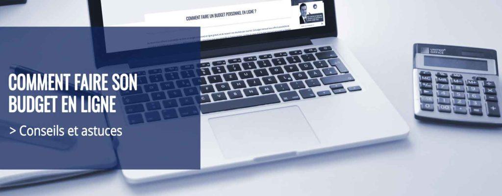 faire son budget en ligne