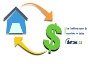 Les 5 meilleurs moyens de consolider vos dettes par www.dettes.ca