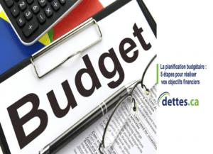 La planification budgétaire: 5 étapes pour réaliser vos objectifs financiers par www.dettes.ca
