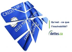 Qu'est-ce que l'insolvabilité? par dettes.ca