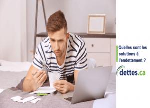 Quelles sont les solutions à l'endettement ? par www.dettes.ca