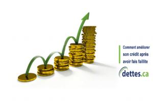 Comment améliorer son crédit après avoir fait faillite? par www.dettes.ca