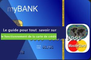 carte de crédit mastercard bleue sans nom de banques
